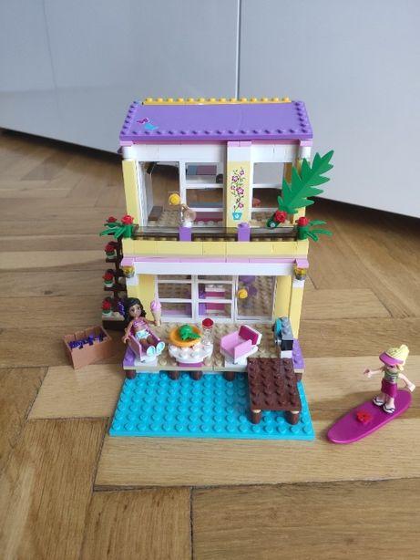 Lego Friends 41037 Letni Domek Stephanie zestaw + instrukcja 2x