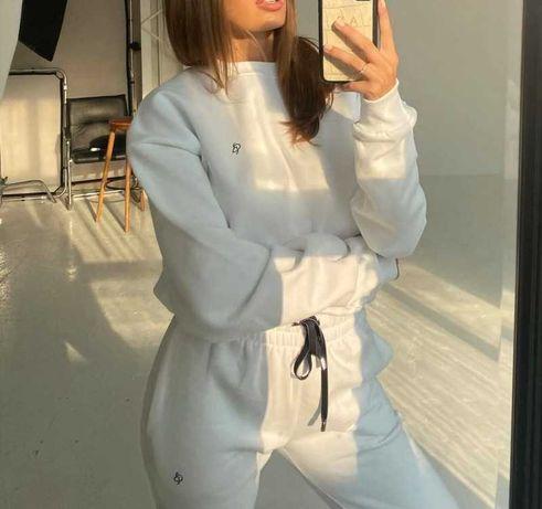 Biały komplet dresowy Adrianna Pindara r. S