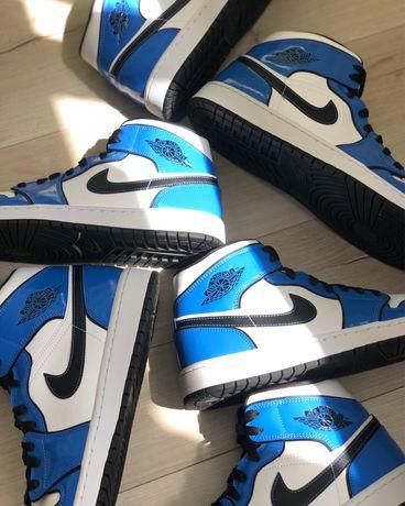 Jordan 1 Mid Signal Blue (nike dunk sb,air max,yeezy,vans,supreme)