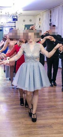 Koronkowa sukienka z tiulem Mosquito roz. m