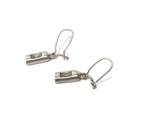 Wyrób jubilerski używany- srebrne kolczyki