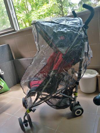 Wózek Maclaren quest parasolka folia moskitiera