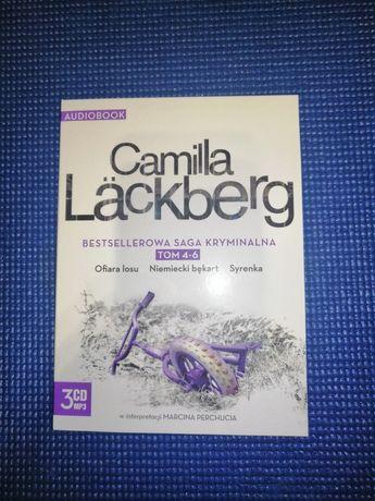 Camilla Lackberg. Zestaw 3 audiobooków CD.