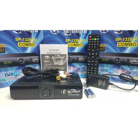 Комбинированный DVB-T2/S2 Mpeg4 Full HD ресивер Sat Integral SP-1329