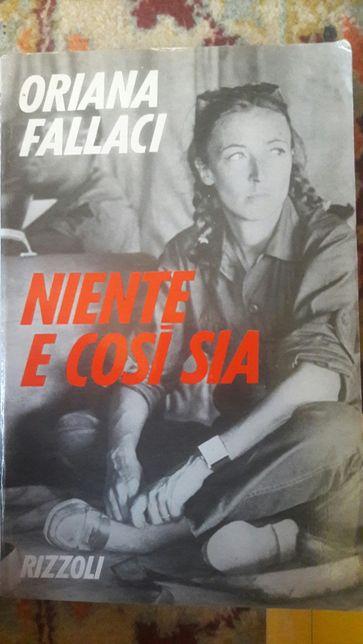 Книга на итальянском Oriana Fallaci Niente e così sia
