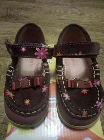 Кожаные туфли (400 р.)