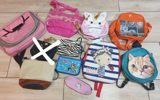 Plecaki i torebki dla dzieci