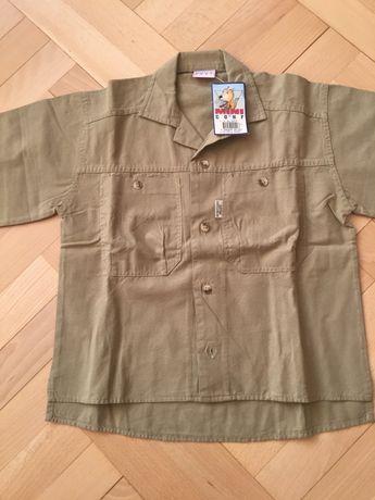 Koszula chłopięca 10 lat r S