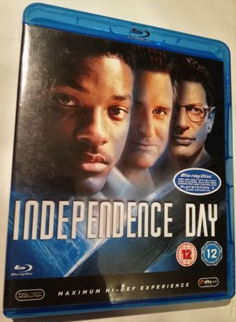 Independce Day blue ray HD Dzień Niepodległości po ang. + dodatki!