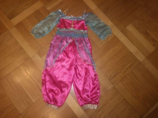 Strój Jasminy, Jasmina, Disney roz.3-5 lat(98-110cm)