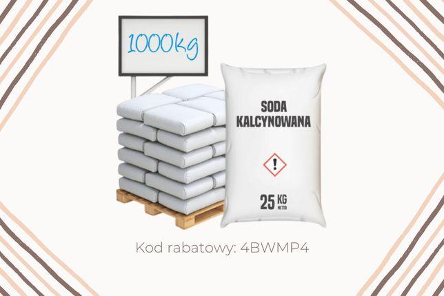 Soda Kalcynowana - Węglan Sodu 1000 kg. 1,52 zł / 1 kg!. Cała Polska.