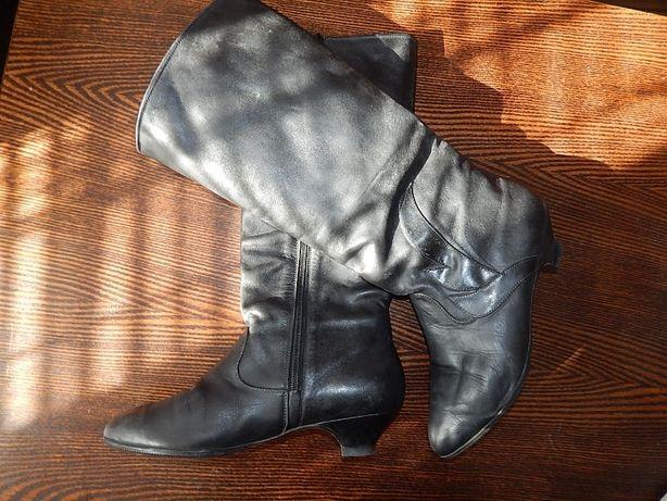 Сапожки демисезонные кожаные 37 размера