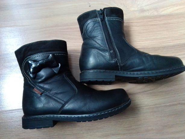 Buty skórzane botki Lasocki kids 30 dziewczęce