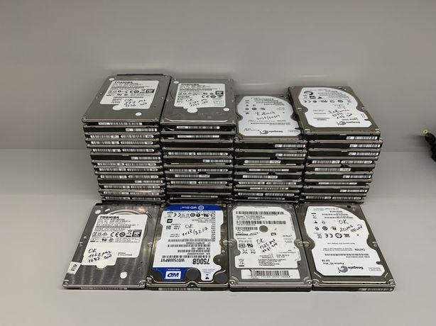 Жорсткі диски HDD 2.5 для ноутбука Seagate Toshiba WD 320 500 750 1 tb