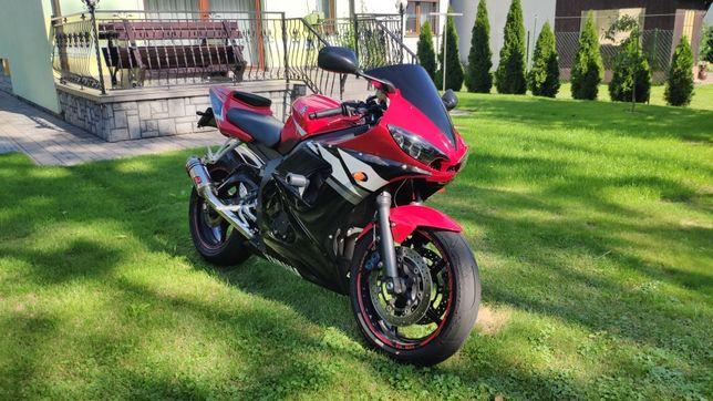Yamaha YZF-R6 600cc RJ05 na kategorie A2 35kW! Stan idealny