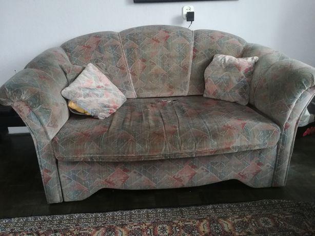 Komplet wypoczynkowy sofa + dwa fotele