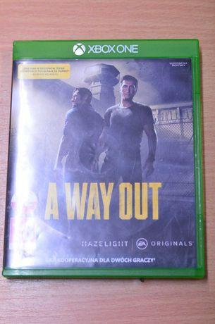 Gra na Xbox One A way Out Polskie napisy Lombard Tarnów