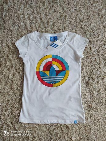 T-shirt Adidas NOWY Z METKĄ S/36/8