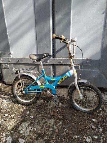 велосипед 500 рублей 14 дюймов