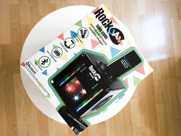 Nowe Karaoke RockJam Bluetooth + 2 Mikrofony SingCube Maszyna Smart !