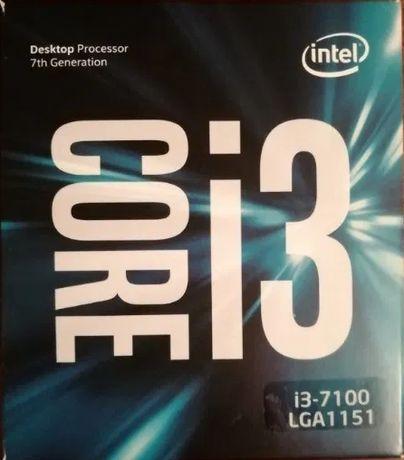 Процессор Intel Core i3-7100 BOX Socket 1151