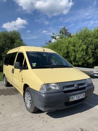 Fiat Scudo 2.0 пасажир