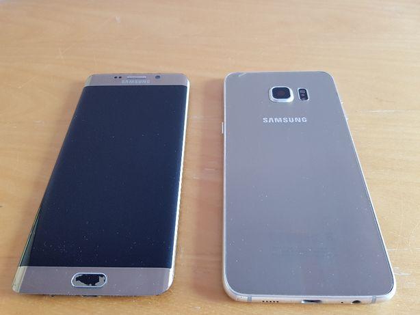Telefon Samsung Galaxy S6 + plus gold platinum 32 GB uszkodzony części