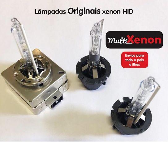 Lampadas Xenon e Led Auto - D1S;D2S;D2R D3S;D4S - Com Garantia -