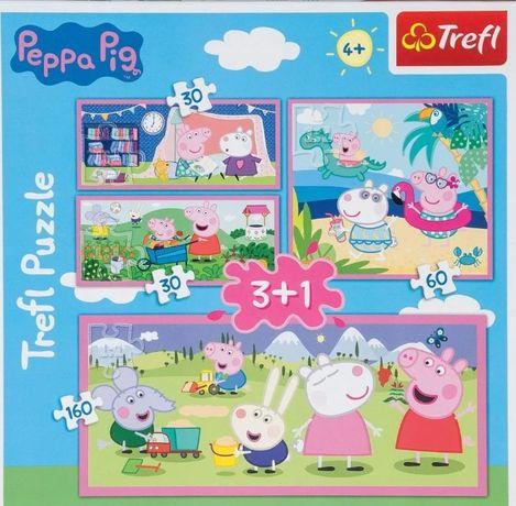 Puzzle Peppa Pig Trefl 4 w 1