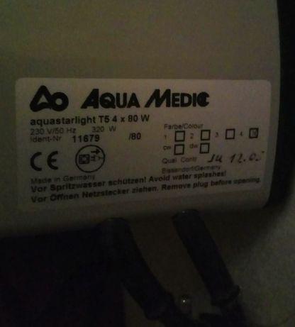 iluminação para aquário da Aqua Medic - Aquastarlight T5 4 x 80W