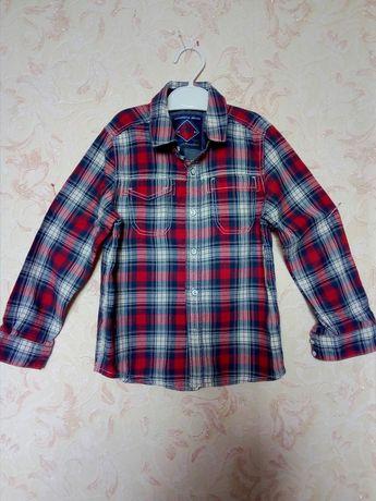 Рубашка бренд NEXT на 5 лет