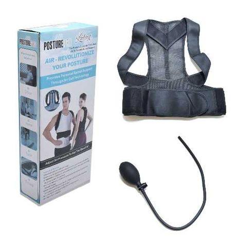 Colete corretor postural com ar