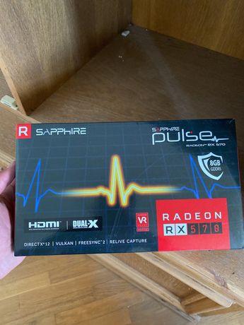 Sapphire Rx570 Pulse 8gb ( 8 карт на укр.гарантии , аналог Rx 580)