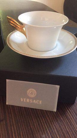 Filizanki do herbaty 12szt Versace Meandre d'Or oryginal okazja