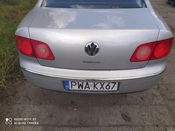 Volkswagen Phaeton zderzak tył Parktronic