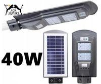 Lampa Zewnętrzna Solar Solarna Led Uliczna Przemysłowa 40W