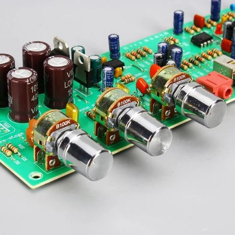 DX338A Предварительный усилитель. Предусилитель. Темброблок. АС+0- 12В