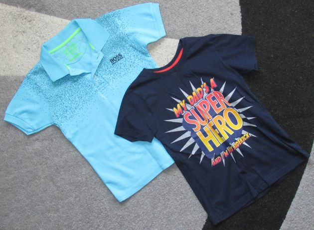 Продам крутые футболки на мальчика 5-6 лет, ростом 116см