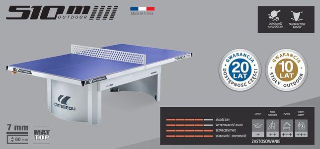 CORNILLEAU stół tenisowy PRO 510M outdoor niebieskie