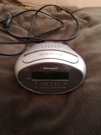 Radio budzik Mikrospot