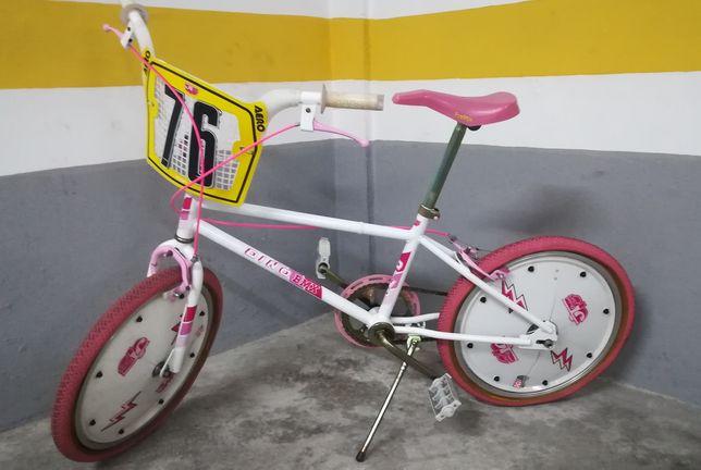 Bicicleta Dino Personalizada - Vintage - Restaurada