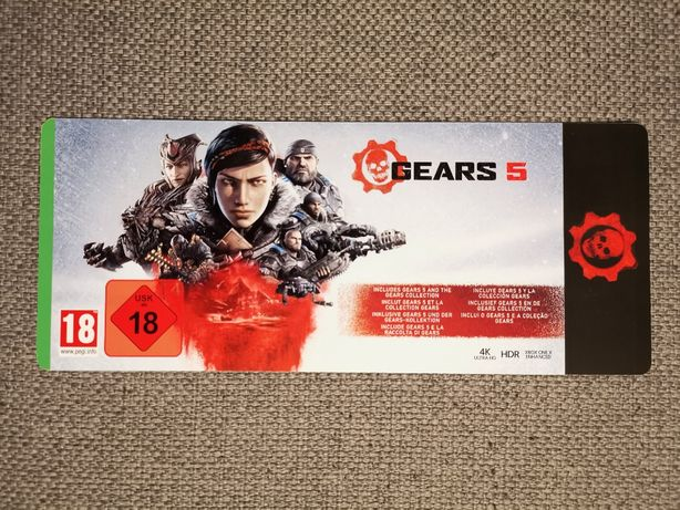 KOLEKCJA Gears of War PL - Gears 5, GoW 4, GoW 3, GoW 2, GoW XBOX + PC
