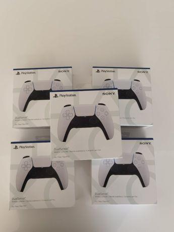 Comando PS5 Dualsense original novo e selado