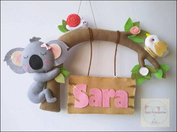 Enfeite Porta Placa Maternidade Criança