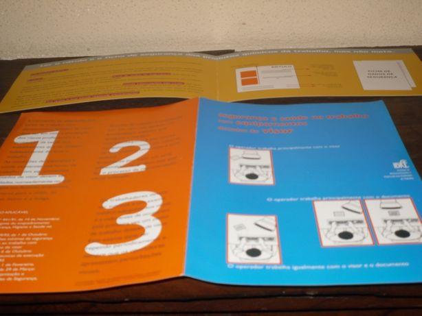 Panfletos de Higiene e segurança no Trabalho