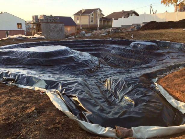 Гидроизоляционная пленка для бассейнов резервуаров и емкостей