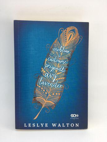 "Książka ""Osobliwe i cudowne przypadki Avy Lavender"" - Leslye Walton"