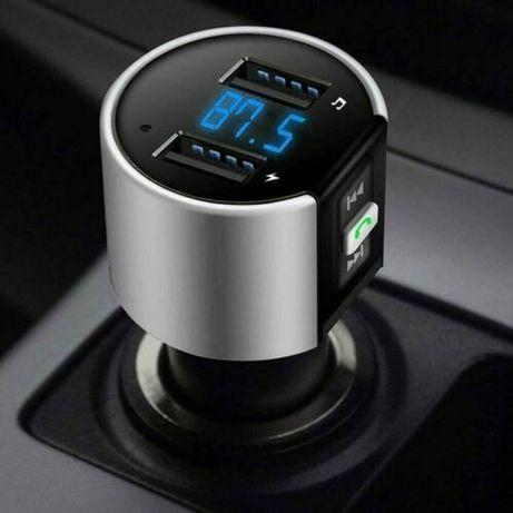 Bluetooth Sem Fio Adaptador De Rádio Transmissor Fm MP3 Player Kit Car