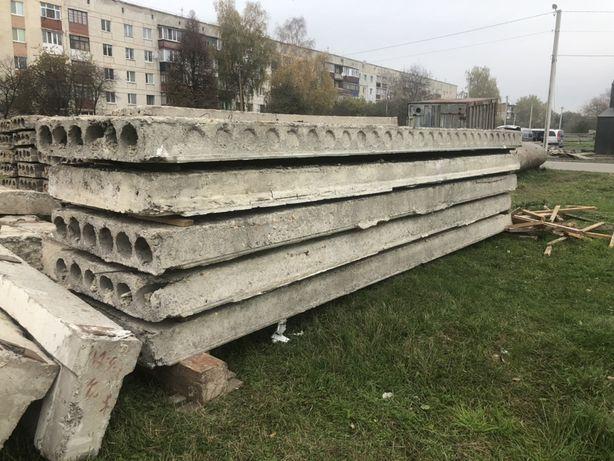Плиты перекрытия панели бетонные  Блок ФБС Регеля Перемычка и тд и тп