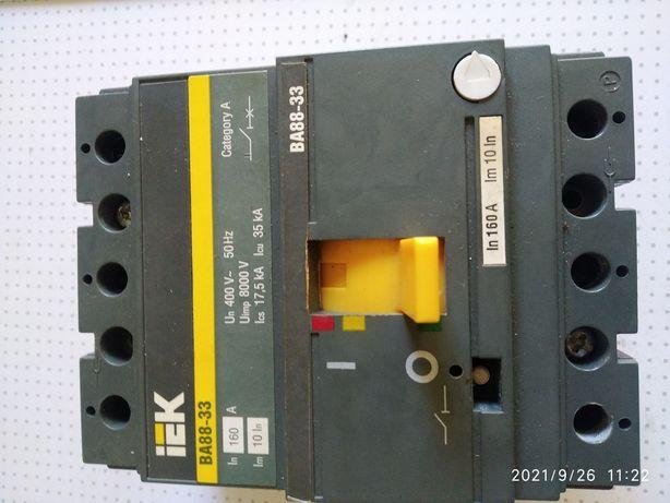 Автоматический выключатель IEK ВА88-33  160А